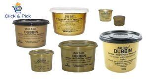 Gold Label imperméable Cire Dubbin NATURELLE NOIR & MARRON- selle savon- Hide Food-afficher le titre d`origine TyATIlFY-07162037-586864046