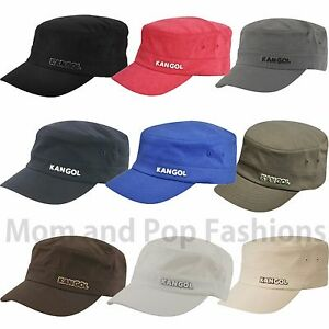 1fd0b71d722 Authentic Mens Kangol Flexfit Cotton Twill Army Cap Hat 9720BC S M L ...