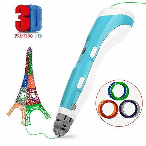 3D Printing Pen Crafting Drawing Printer Compatible with 1.75mm PLA ABS Filament