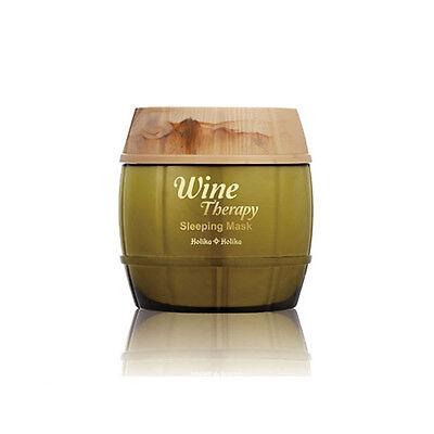 Holika Holika Wine Therapy Sleeping Mask 120ml [White Wine] Whitening Care/Korea