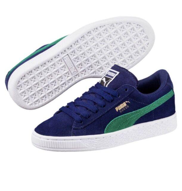 New Puma Suede Sneaker Blue Depths