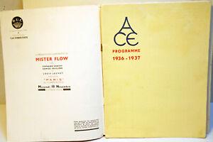 """"""" ACE 1936/37 """" - LIVRE D'OR - RARE - 28 pages - dans revue N° 497 du 14/11/1936"""