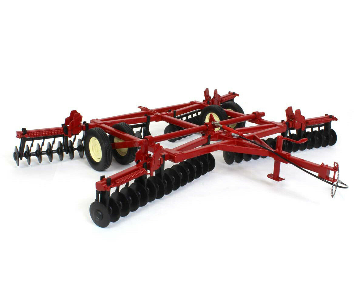 DISC HARROW WITH FOLDING WINGS rot 1 16 DIECAST MODEL BY SPECCAST CUST1860