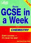 Revise GCSE in a Week Chemistry by Dan Evans, Alex Watts (Paperback, 1998)
