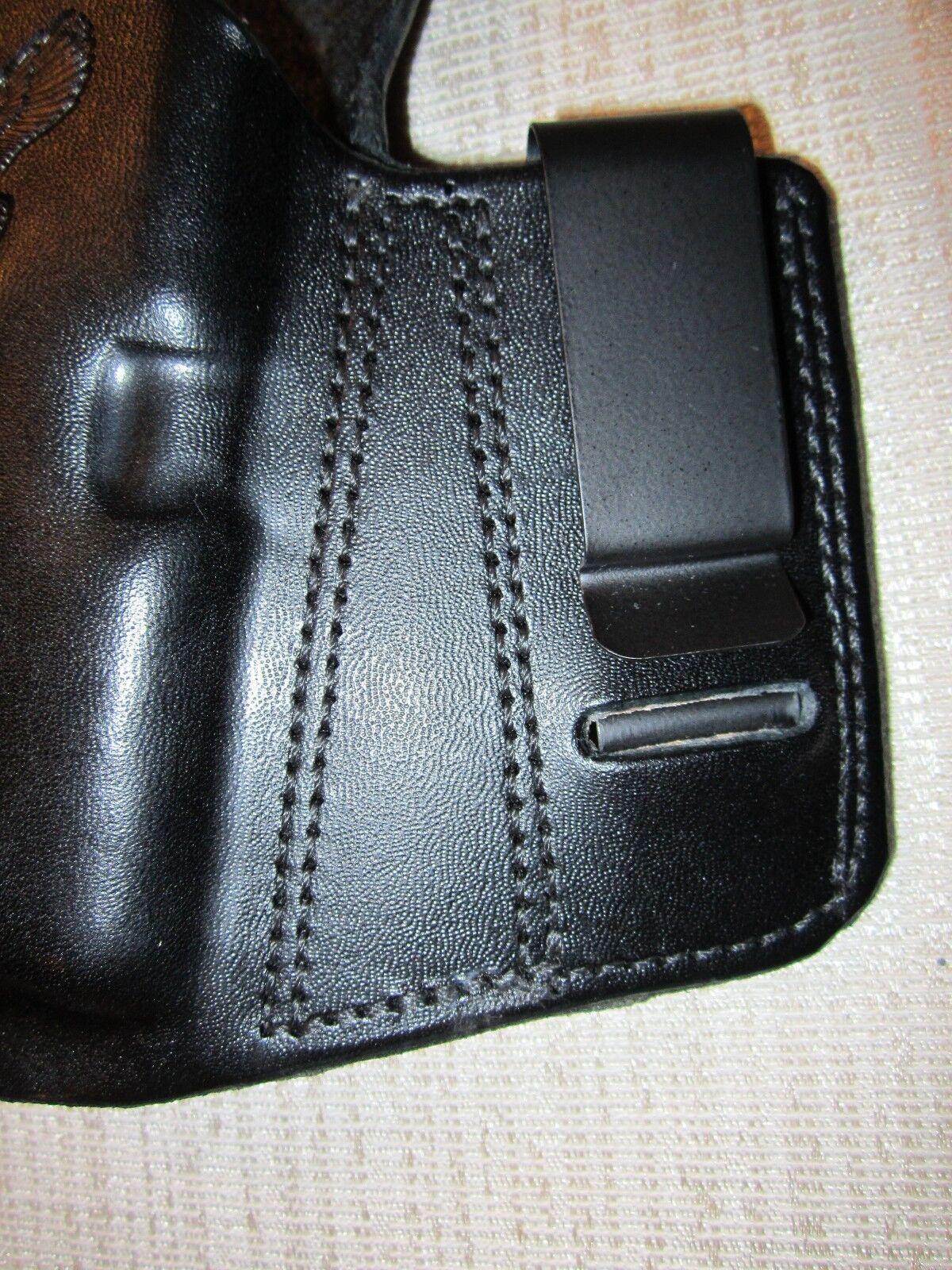 KAHR PM9 & CM9  REVERSIBLE, IWB OR OWB, R R OWB, H, formed pancake belt holster 9ebe7e