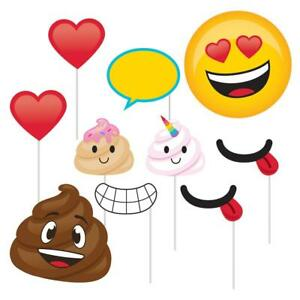 Image Is Loading Poop Emoji Photo Booth Props 10pc Birthday Party