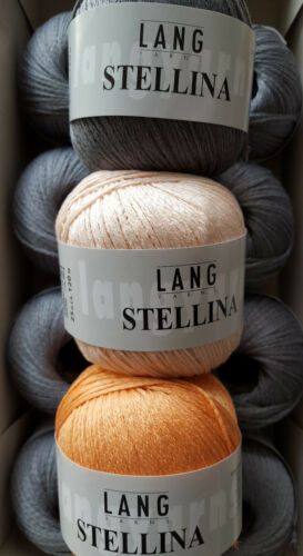 LANG Yarns STELLINA verschiedene Farben zur Auswahl