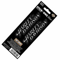 Harley Davidson Text With Rivets Decals Made In Usa Sheet Of 2 Decals