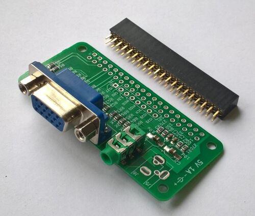 for Raspberry Pi Zero rev3 VGA-Zero HAT kit