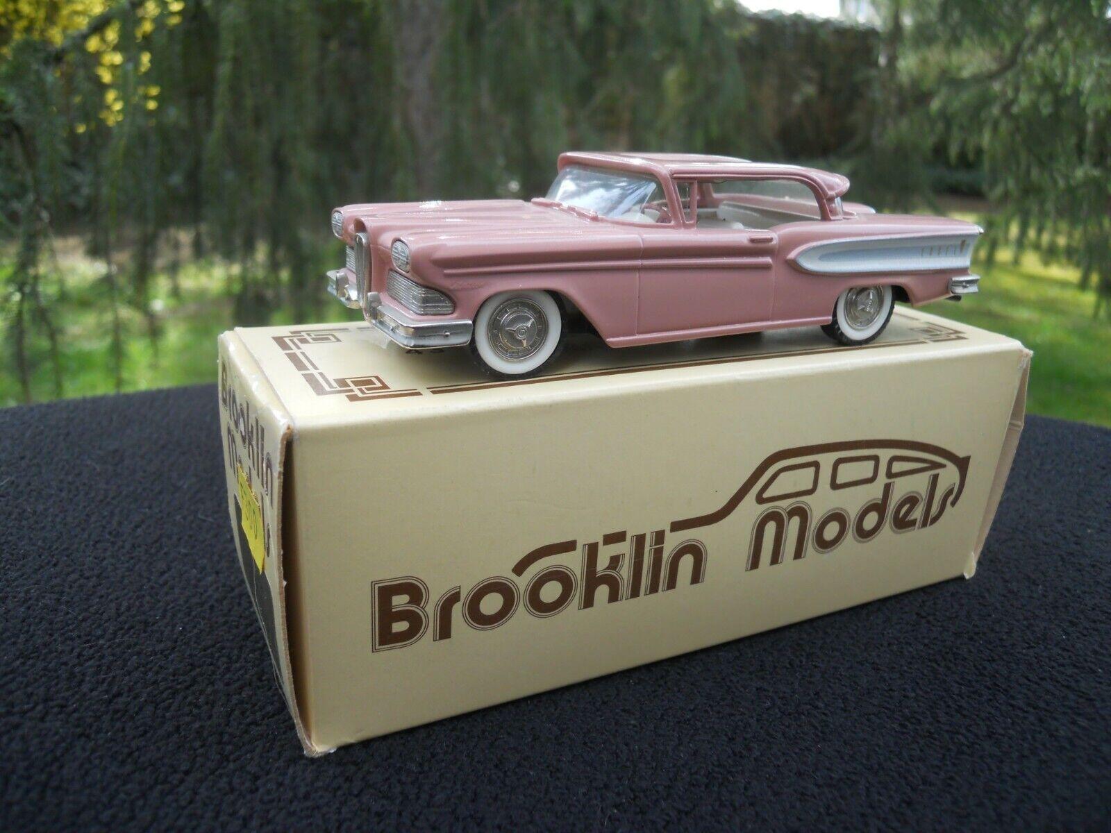 BROOKLIN MODELS 22 EDSEL CITATION TWO DOOR HARDTOP