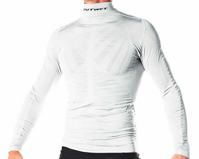 Made in Italy by Outwet WP3 Cycling Long Sleeve BASE LAYER in Black