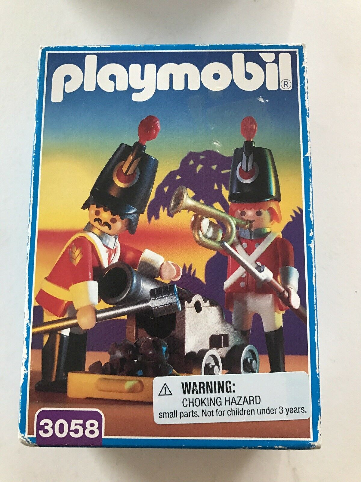Harbor Guards Playmobil 3058 SEALED Set Harbour Royal Redcoats British Cannon
