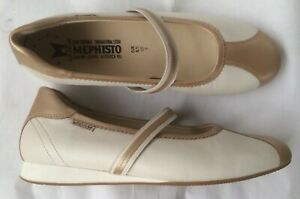 New-shoes-ballerinas-mephistopheles-white-beige-40