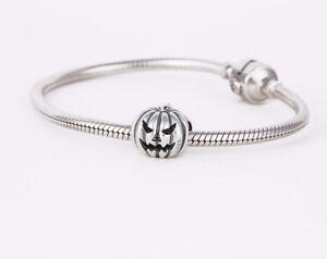 Halloween-Pumpkin-Charm-for-Bracelet-or-Necklace-Delicate-Silver-Jewellery