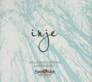 2021 Eurovision - Montenegro 2018. Inje - Vanja Radovanoviç. (Promo CD Single)