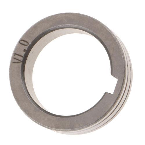 0.8 1.0mm Lager Stahl Mig Schweißer Drahtvorschub Antriebsrolle Rolle 30mm