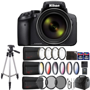 Nikon COOLPIX P900 Digital Camera with 83x Optical , WiFi enabled & Accessories 718174967974