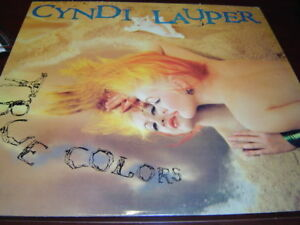 CYNDI LAUPER TRUE COLORS LP 1986 CBS PORTRAIT 40313 DJ PROMO