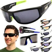 X-Loop Sports Wrap Sunglasses Mens Fishing Cycling Running Golfing Glasses New