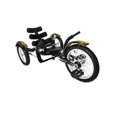 Mobo Mobito (Black) TRI-201BK Cruiser NEW