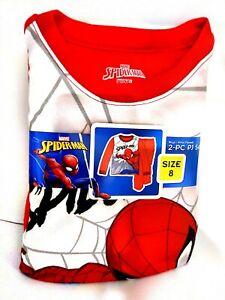 Spiderman Flannel Pajama Sleepwear Set 3t