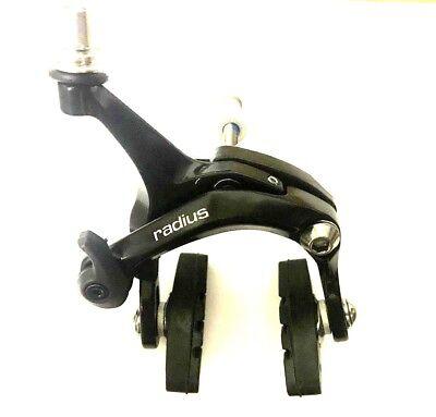 Fixie Road Bike Dual Pivot Caliper Brake Side Pull Caliper Front Black