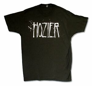 Hozier-Spray-Logo-Tour-On-Black-T-Shirt-New-Official-Band-Music