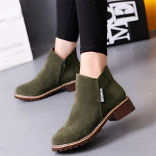 8453501da6f7 item 1 Ladies Womens Winter Snow Faux Suede Zipper Chunky Low Heel Ankle Boots  Shoes -Ladies Womens Winter Snow Faux Suede Zipper Chunky Low Heel Ankle ...