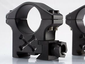 Talley-Picatinny-Tactical-Scope-Rings-30MM-High-Black-Armor-BAT30H