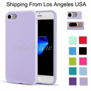 Candy-Color-Soft-Slim-TPU-Rubber-Phone-Case-Cover-For-Apple-iPhone-7-Plus-7-Gift
