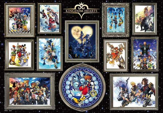 1000 Piece Jigsaw Puzzle Disney Kingdom Hearts Art Collection (51x73.5cm)