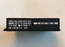 1994-04 BMW E38 E39 E60 Cruise Control Module VDO 65718369062 OEM