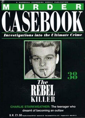 MURDER CASEBOOK Marshall Cavendish Magazine 1-70 Choose Pick Issue