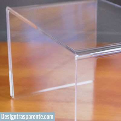 Tavolini da salotto in plexiglass trasparente prezzi ...