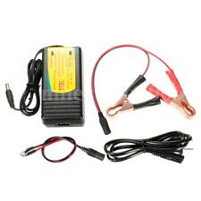 12V Trickle Car Boat Motorcycle RVs Automatic Battery Float Charger Kit