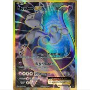 Pokemon-MEWTWO-EX-Full-Art-103-108-ULTRA-RARE-XY-Bonds-Anglais-Comme-neuf