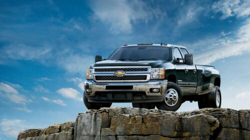 "Chevrolet Silverado 3500 HD Crew Cab 42/"" x 24/"" LARGE WALL POSTER PRINT NEW"