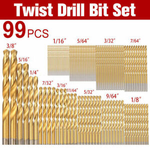 Cobalt-Drill-Bits-Kit-For-Stainless-Steel-HSS-Co-Cobalt-Bit-Tool-99pcs-Set-New