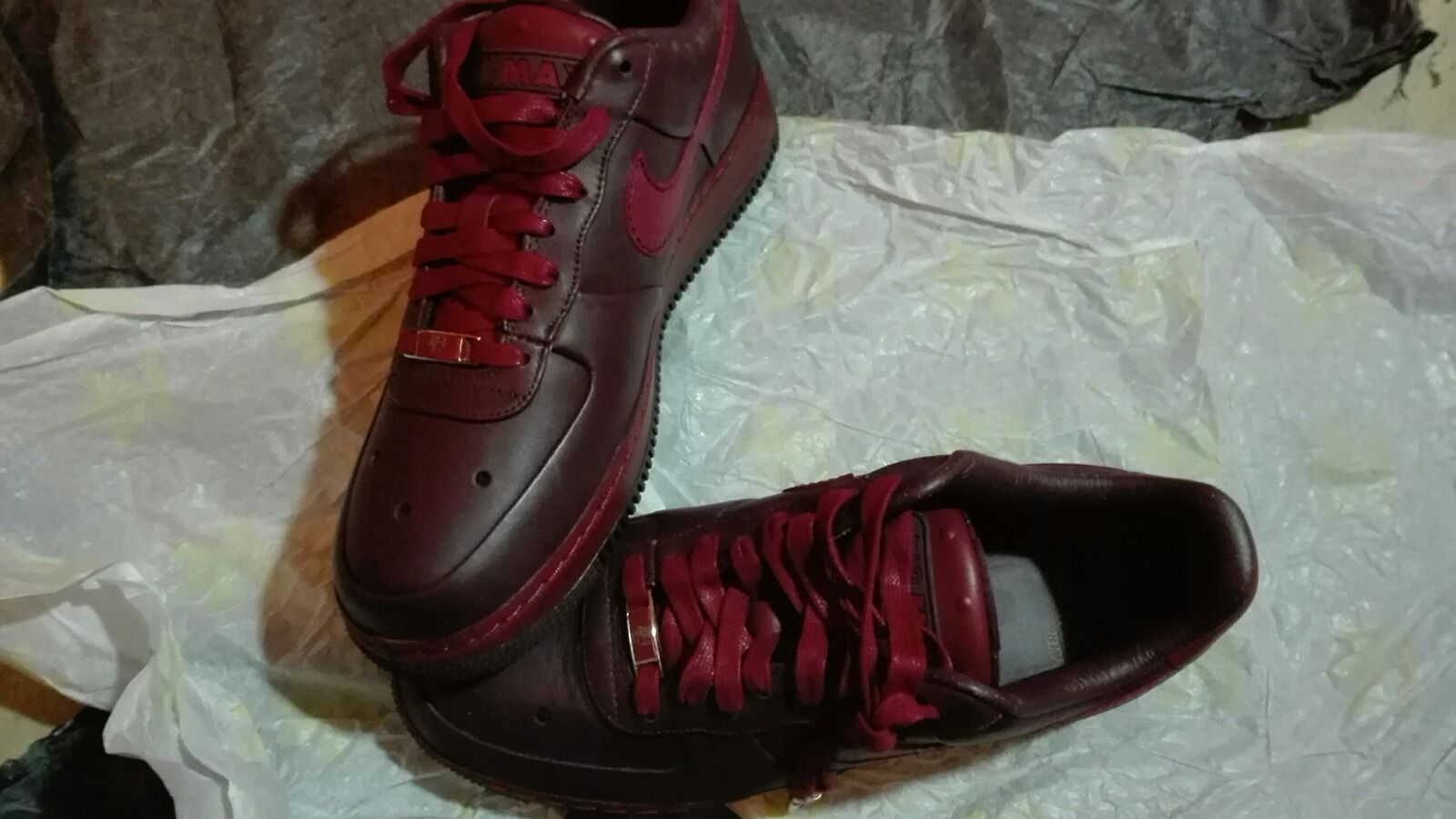 Nike Air Force 1 Low Supreme Burgundy MCO CB 34 Deep Burgundy Supreme DS Men 317333-661 71b057