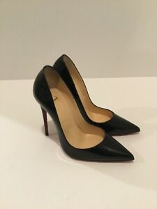 a7cbca0fa8c Details about New Christian Louboutin So Kate 120mm Patent leather Red  Bottom Pump, Black 36