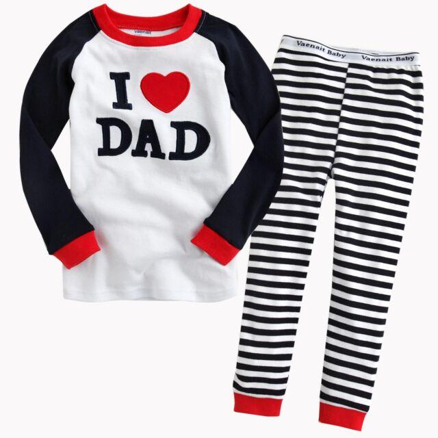 "NWT Baby Toddler Kid's Clothes Boys Girls Sleepwear Pajama Size 12M-5T ""Set_9"""
