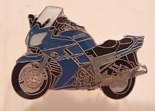 Blue Touring Motorcycle Pin badge