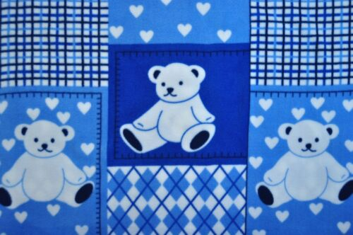 Stoff Antipilling Polar Fleece Polarfleece 9475 Bekleidung Deko Bedruckt Bärchen