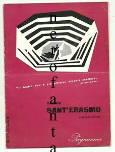 Teatro-Sant-039-Erasmo-a-scena-centrale-Brochure-1956-l-039-acqua-cheta-Architettura