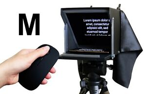 Teleprompter-Black-Fish-M-Compact-prompter-10-039-039-for-iPhone-and-Smartphone