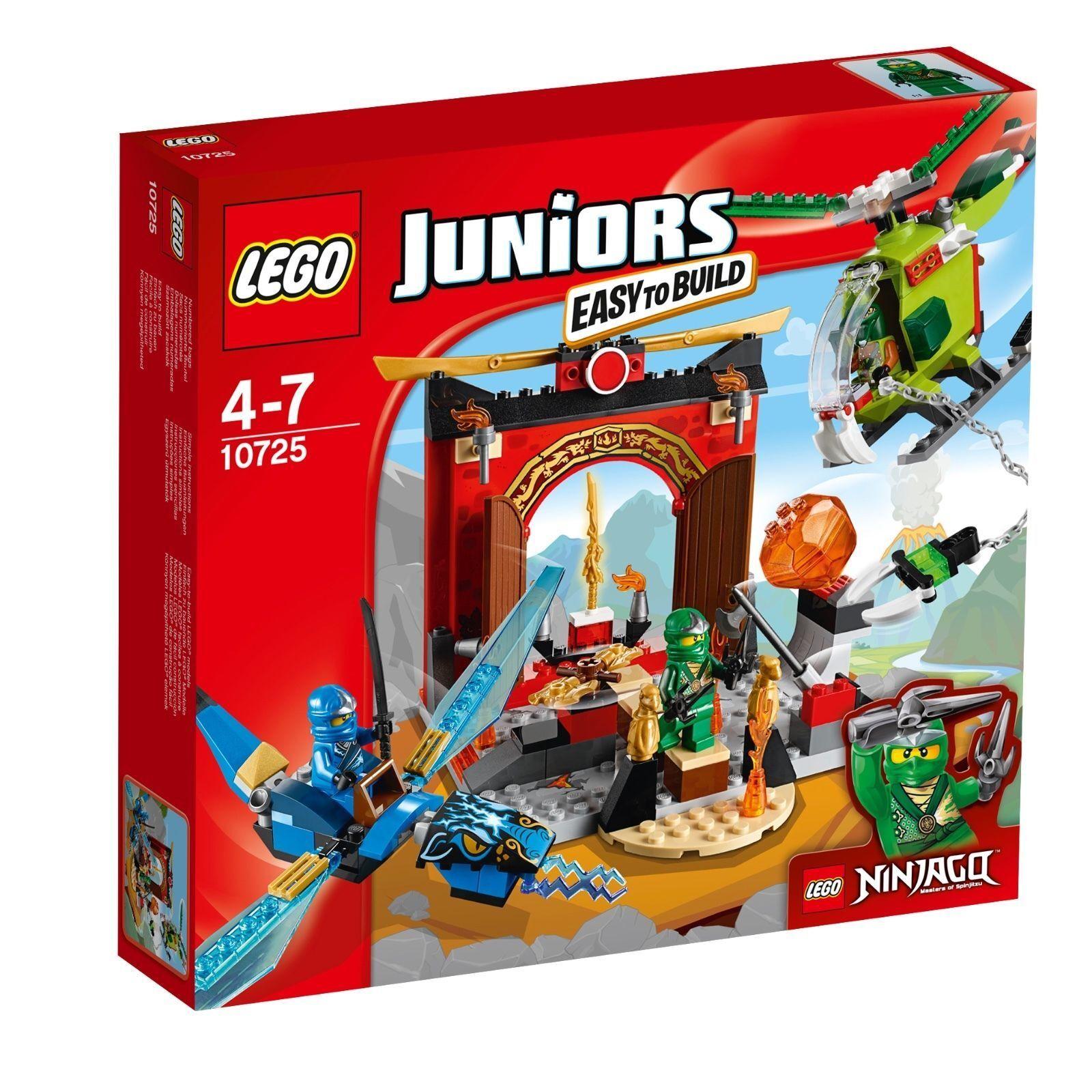 Lego 4Juniors 10725 Der Perso Tempio - Nuovo / Conf. Orig.