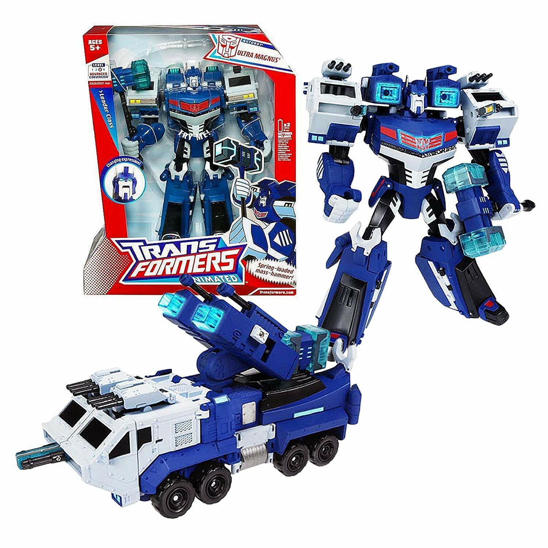 FLAWED scatola Transformers Animated Leader classe Ultra Magnus luci e suono