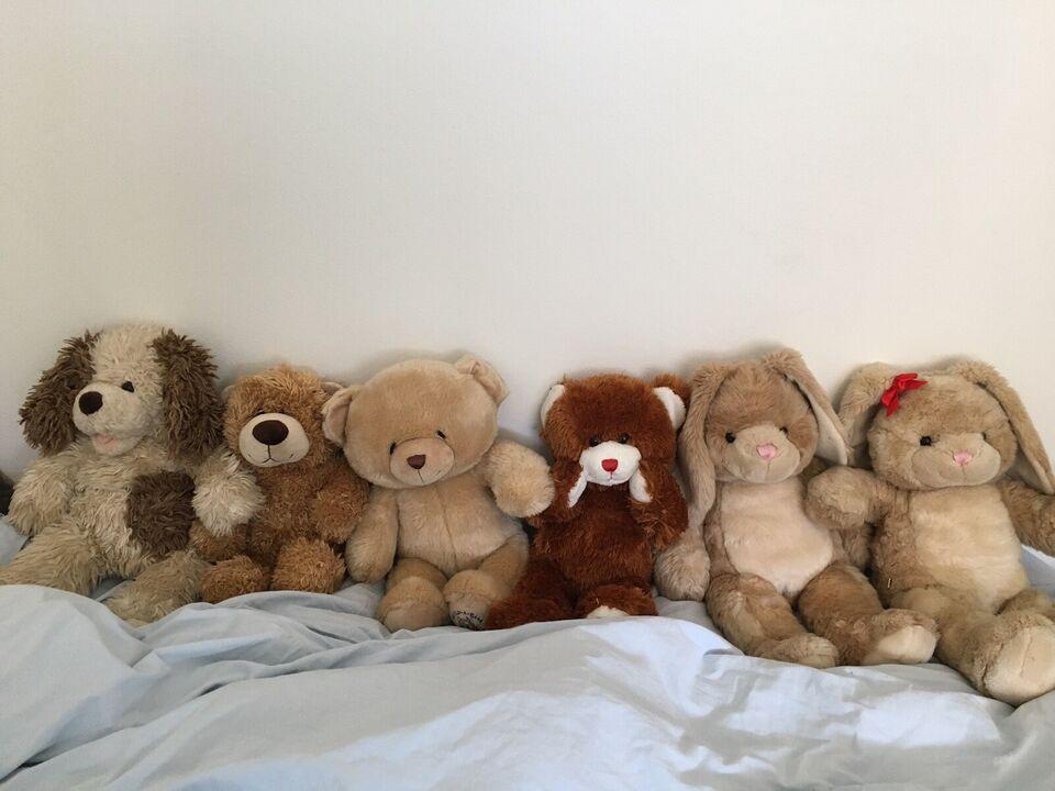 Bamser, tøj og tilbehør , Build a bear