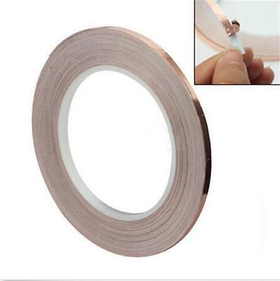 Timeproof NEW 1 Roll Single Conductive COPPER FOIL Tape Adhesive 5MM X 30M JGCA
