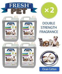 Fresh-Pet-Niche-Chien-Desinfectant-Double-Force-Parfum-4x5L-Propre-Coton